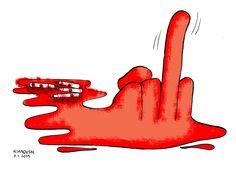 """Charb m'avait rassuré : 'On est en France, ici, pas en Iran !'"" - Kianoush Ramezani, satiriste iranien"