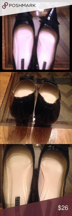 On sale! Carole Little black heels Carole little black heeks w/ bows. They're excellent condition⭐️⭐️⭐️ Worn once. They're too big for me I usually wear a 9 Carole Little Shoes Heels