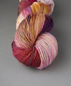 Tricksy Knitter - Superwash & Silk Kit - Dusky Ponies