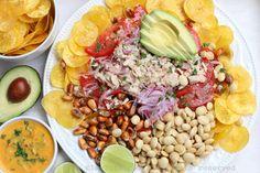 Tuna fish ceviche (Ceviche volquetero)