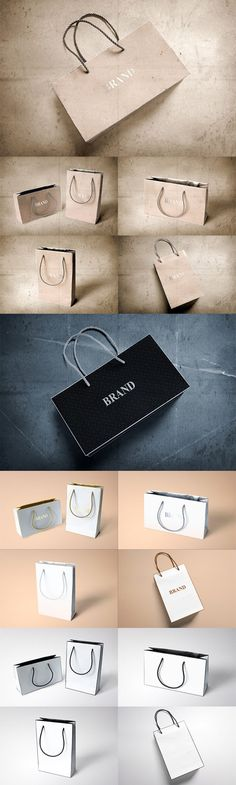 CreativeMarket – Paper Bags Mock-ups » Free Special GFX Posts Vectors AEP Projects PSD Web Templates