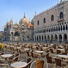 My dream vacation would have to include a trip to Piazza San Marco in  Venice, Italy.This photo of Venice is from #monogramsvacation.