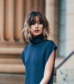 30 Trendy Short Haircuts 2015 – 2016 Short Haircut 2016 Source by whippycake. Short Hair With Bangs, Short Hair Cuts, Hair Bangs, Shorter Hair, Lob Bangs, Bangs Short Hair, Mid Length Hair With Bangs, Bangs Hairstyle, Style Hairstyle