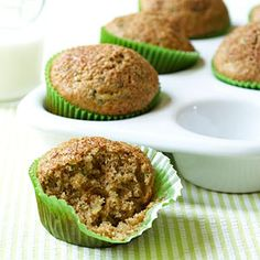 Zucchini Muffins for all of the fresh zucchini in my garden