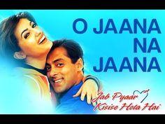O Jaana Na Jaana - Jab Pyar Kisisi Se Hota Hai | Salman Khan & Namrata | Kumar Sanu - YouTube