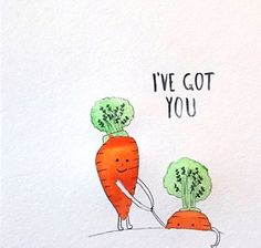 I DIE!! CUUUUTE!!   We all know how much Shaz s her carrots (logo anyone)?   Despite being one of the easiest root veggies to digest carrots host a myriad of health benefits. Let's have a quick lookie at just a few facts    Carrots are one of the most widely used and enjoyed vegetables in the world partly because they grow relatively easily and are very versatile in a number of dishes and cultural cuisines. Carrots are scientifically classified as Daucus carota and it is categorized as a…