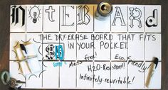Noteboard Puts a Whiteboard in Your Pocket