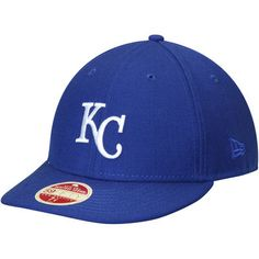 Kansas City Royals New Era Cooperstown Collection Vintage Fit 59FIFTY Fitted Hat - Royal
