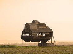 """old bunker for the overload of mineral fertilizers,"" Odessa, Ukraine"