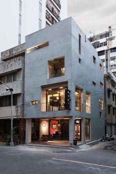 Renovation of Split-Level Hair Salon & Residential / HAO Design studio