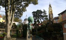 Portmeirion - Surrealism by the Seaside