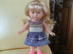 Vêtement, robe pour mini Corolline, poupée 20 cm. : http://www.alittlemarket.com/jeux-jouets/fr_vetement_robe_pour_mini_corolline_poupee_20_cm_-10890053.html