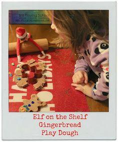 Still Playing School: Gingerbread Play Dough