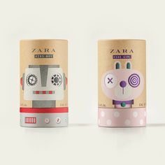 Zara Kids Fragrance on Packaging of the World - Creative Package Design Gallery
