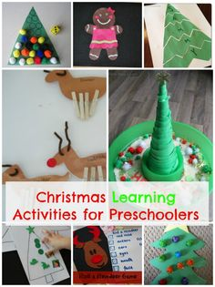 Using the magic of the Christmas season is a great way to get Preschoolers excited about learning!  Here are 16 AWESOME Christmas learning activities for preschoolers. How Wee Learn