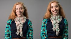 How-To: Light-Up Chameleon Scarf That Matches Any Outfit