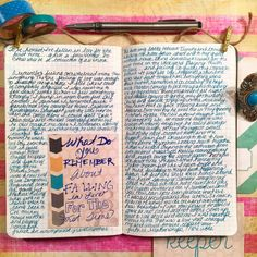 """nairobinicole:  """"What do you remember about Falling in love for the first time"""". journaling-junkie writingnotebooks"""