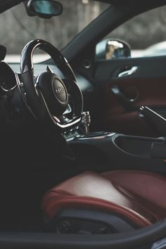 Sexy Audi R8 interior. #carporn