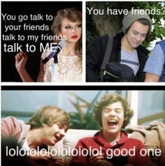 Ahahahahahaha!!! I'm sorry but I still think the Haylor jokes are hilarious! People say to stop it it's over But they're too funny!