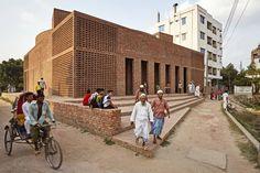 Mesquita de Bait Ur Rouf, em Daca, Bangladesh