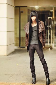 Won Jong Jin, Korean #ulzzang & #model via - {Wanderlust}