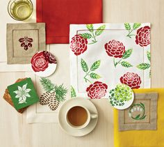 Martha Stewart Four Season Table Decor #PlaidCrafts