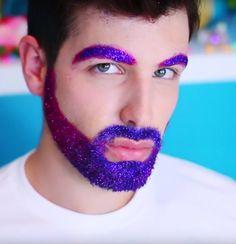 Diy glitter beard just for fun pinterest glitter beards glitter beard glitter beard diy joey graceffa and daniel preda edgy glitterbeard solutioingenieria Gallery