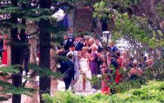 Novak Djokovic and Jelena Ristic wedding ceremony