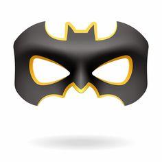 Máscaras de Batman y Batichica para Imprimir Gratis.