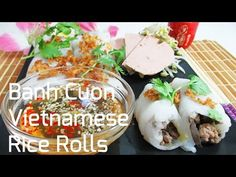 Vietnamese Rice Rolls are suitable during any time of the day. check out the video to learn how to make this popular dish in less than 3 minutes!