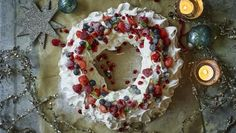 Christmas Pavlova by Mary Berry