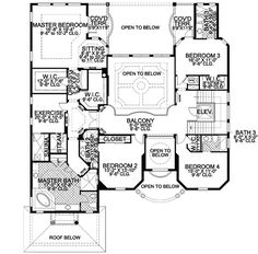 Two Story House Plans With Loft Luxury 3 Bedroom House Plans Design House Plans With Loft