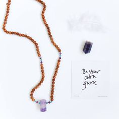 Tiny Devotions mala beads & Danielle LaPorte inspo cards