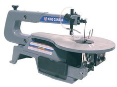 King Canada Tools KC-163SSC-V-6 16  VARIABLE SPEED SCROLL SAW Scie à Chantourner