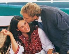 Andrea Casiraghi and wife Tatiana Santo Domingo the day before their wedding