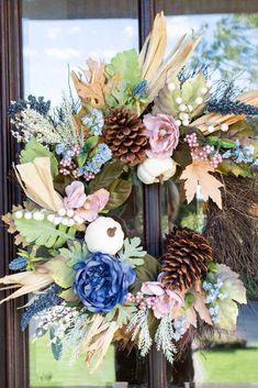 16 Easy DIY Fall Wreath Ideas   Home Design  Jennifer Maune