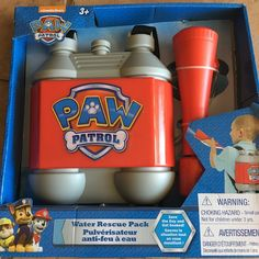 The Paw Patrol Marshall Pup Pack Toy - IT REALLY SHOOTS WATER! - Best Gifts Top Toys