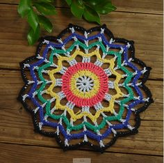 20pcs/lot Crocheted Doilies 16cm/6.4 cotton retro by ColoredHome