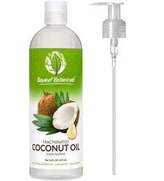 Best Fractionated Coconut Oil (Liquid) - BONUS PUMP - Pure Therapeutic Grade Carrier Oil - Perfect for Blending with Essential Oils, Aromatherapy, Sensual Massages - Ultimate Natural Moisturizer for Radiant Hair, Skin & Face - Love It Guarantee! Coconut Oil For Dogs, Coconut Oil Uses, Coconut Oil For Skin, Skin Care Home Remedies, Lavender Tea, Natural Moisturizer, Healthy Skin Care, Stay Healthy, Wedding Ring