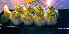 Fried Oyster Sushi....love in a roll!!
