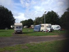 Kingfisher caravan Park, Stokes Bay Gosport 4 Bambi friends & 3 Tents lovely weekend get together  Lin's photo 2014