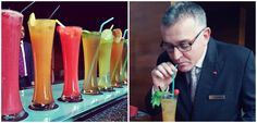 Its Iced Tea Time ~  a tasting session with our General Manager, Mr.Marco Saxer