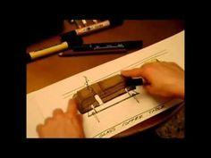 Rendering o Ilustración con Markers-Sofa en piel (leather)