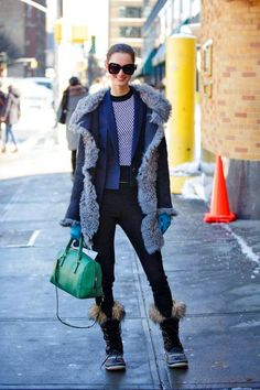 Ways to Style Winter Boots | StyleCaster