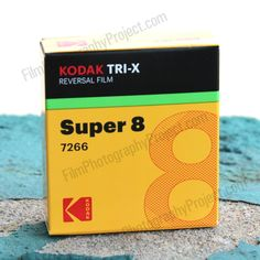 Super 8 BW positive film - 50 ft cartridge*EXPOSURE INDEXES Tungsten (3200K) - 160 iso / Daylight - 200 iso The perfect film for projecting onto a screen (or transferring to a digital file for digital presentation) Film price does not include processing or scan. KODAK TRI-X Reversal Film 7266 is a high-speed, panchroma Super 8 Film, 8mm Film, Film Movie, High Speed, Filmmaking, Presentation, Positivity, Digital, Projects