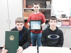 Tam O'Shanter - Southmoreland High School - Trio attains rank of Eagle Scout