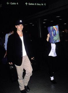Winona Ryder and Johnny Depp 1990