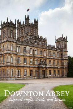 Downton Abbey Inspired Crafts, Decor, and Recipes - Mad in Crafts