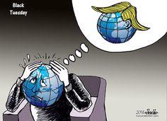 bleibel (2016-11-09) USA / Monde: Les postures protectionnistes et antichinoises de Donald Trump inquiètent le monde des affaires. Mais, une fois au pouvoir, il pourrait revoir ses positions. http://www.courrierinternational.com/article/etats-unis-la-victoire-de-trump-plonge-les-entreprises-americaines-dans-lincertitude