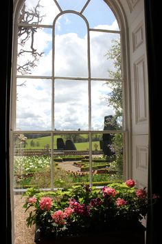 A view from the windows of Bowood House, Wiltshire. English Manor Houses, English Country Cottages, English Country Style, English Countryside, Country Houses, Country Charm, Ventana Windows, Beautiful Gardens, Beautiful Homes